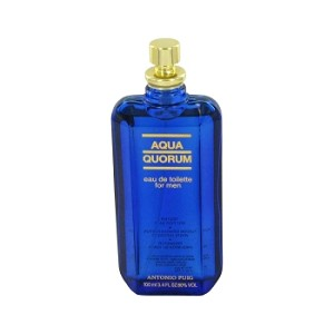 AQUA QUORUM by Antonio Puig Eau De Toilette Spray (Tester) 3.4 oz for Men