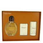 OBSESSION by Calvin Klein Gift Set -- 4 oz Eau De Toilette Spray + .67 oz Min EDT Spray + 2.6 oz Deodorant Stick for Men