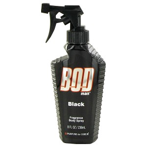 Bod Man Black by Parfums De Coeur Bod Man Set Includes Fresh Guy, Black and World Class all in 1.5 oz Body Sprays for Men