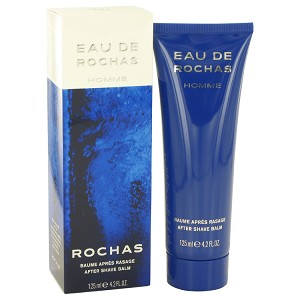 EAU DE ROCHAS by Rochas After Shave Balm 4.1 oz for Men