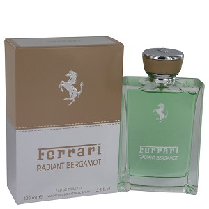 Ferrari Radiant Bergamot by Ferrari 3.3 oz Eau De Toilette Spray for Men