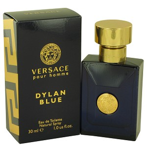 Versace Pour Homme Dylan Blue by Versace 1 oz Eau De Toilette Spray for Men